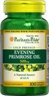 (Evening) Eve Primrose Oil (Olej z wiesiołka) 500 mg with GLA - 100 tabletek - BRAK