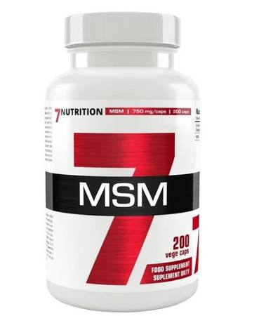 7Nutrition MSM 750 mg 200 kaps
