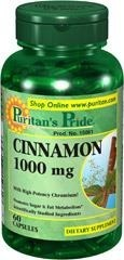 Cinnamon Complex with High Potency Chromium (cynamon + chrom) 1000 mg - 120 tabletek BRAK