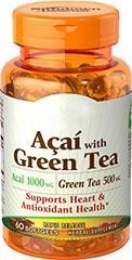 Doctor's Trust  Acai with Green Tea  1000 mg/500 mg - 60 kapsułek - BRAK