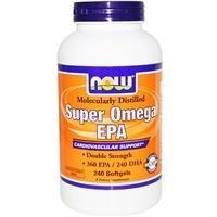 Double Strength Super Omega EPA - 240 tabletek BRAK