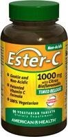 EsterC (witamina C) 1000 mg Time Release Tabs 1000 mg - 90 tabletek BRAK