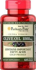 Extra Virgin Olive Oil 1000 mg - 60 tabletek - BRAK