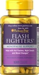 Flash Fighters - 100 kapsułek (black cohosh, dong quai, licorice, vitex) -  BRAK