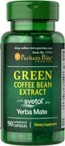 Green Coffee Bean Extract (zielona kawa) with SVETOL® and Yerba Mate - 90 kapsułek BRAK