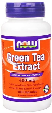 Green Tea Extract - 400 mg - 100 kapsułek BRAK