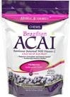 Herbal Authority® Brazilian Acai Chews 2500mg with Vitamin C - 30 sztuk BRAK