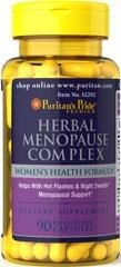 Herbal Menopause Complex (Black Cohosh Extract) - 90 kapsułek - BRAK