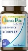 High Potency B Complex - 60 tabletek BRAK