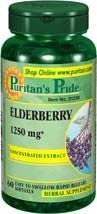 Immune support Elderberry 1250 mg - 60 kapsułek - BRAK