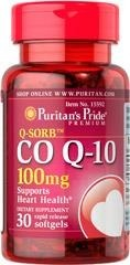 Puritan's Pride Koenzym Q 10 Q-Sorb™ CO Q-10 100 mg - 30 kapsułek - NEW