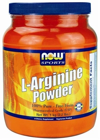 L-Arginine powder - 100 % pure free form - 454 g BRAK