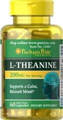 L-Theanine (teanina) 200 mg - 60 tabletek - BRAK