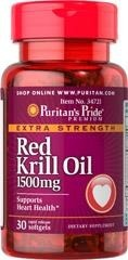 Maximum Strength (astaksantyna) Red Krill Oil 1500 mg (Astaxanthin + Omega) - 30 kapsułek BRAK