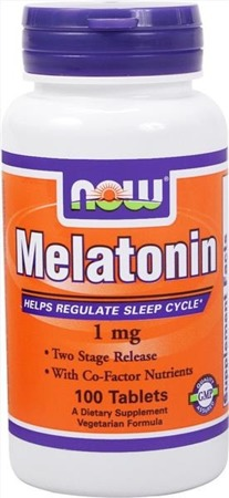 Melatonin  (melatonina)  - 1 mg - 100 tabletek BRAK