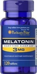 Melatonina 3 mg - 120 tab BRAK