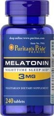 Melatonina 3 mg - 240 tab BRAK