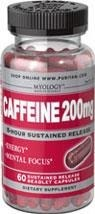 Myology™ Caffeine  (kofeina) 200 mg 8-Hour Sustained Release BRAK