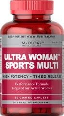 Myology™  Ultra Woman™ Sports Multiwitaminy - 90 kapsułek BRAK
