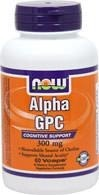 NOW® Foods Alpha GPC 300 mg - 60 tabletek - BRAK