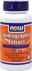 NOW® Foods  Andrographis Extract 400 mg - 90 Vegi kapsułek -  BRAK