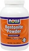 NOW® Foods  Bentonite Powder 100% Pure Clay - 450 gram - BRAK