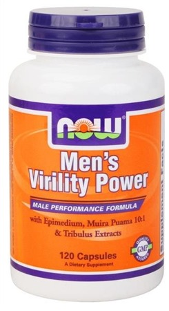 NOW® Foods Multiwitaminy Men's Virility Power - 120 kapsułek BRAK