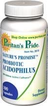 Nature's Promise™ Probiotic Acidophilus (probiotyki) 100 million - 100 kapsułek  BRAK