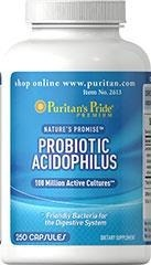 Nature's Promise™ Probiotic Acidophilus (probiotyki) 100 million - 250 kapsułek BRAK