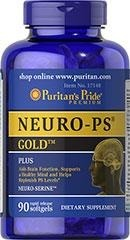 Neuro-PS Gold with DHA (acetyl-l-karnityna) - 90 kapsułek PRODUKT PREMIUM! BRAK