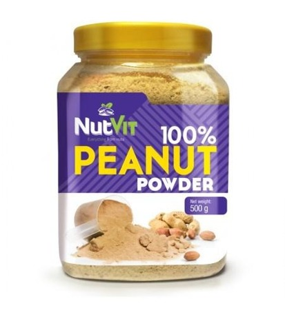 NutVit 100% Peanut Powder - 500 g