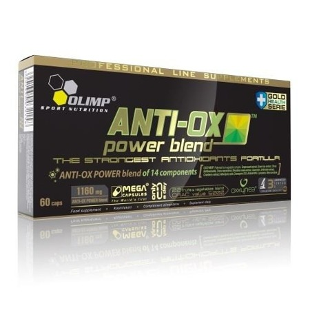 OLIMP Anti-OX power blend (antyoksydanty + green source) - 60 kapsułek! - 40 % TANIEJ! NAJTANIEJ W POLSCE!
