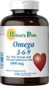 Omega 3-6-9 w/Safflower Oil - 150 tabletek BRAK