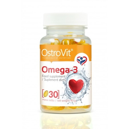 OstroVit Omega 3 (EPA, DHA) - 30 tabletek NEW