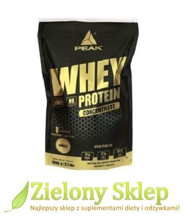 PEAK Whey Protein Concetrate (koncentrat białka) - 1000 g