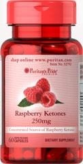 Raspberry Ketones  (Ketony z malin) 250 mg - 60 Tabletek - BRAK