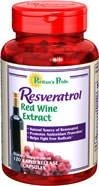 Resweratrol (Resveratrol) Red Wine Extract - 120 tabletek BRAK