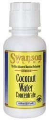 SWANSON Coconut water concentrate / potas (Koncentrat wody kokosowej) - 237 ml - 60 % TANIEJ!