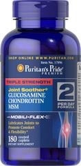 Triple Strength Glucosamine (Glukozamina) , Chondroitin & MSM Joint Soother® - 180 tabletek BRAK