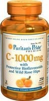 Witamina C - 1000 mg with Bioflavonoids & Rose Hips  BRAK