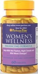 Women's Wellness (Black Cohosh + Thai Kudzu + Vitex agnus castus / Chasteberry - Niepokalanek) - 60 tabletek - BRAK